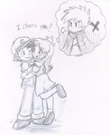 Red Ash x Blue Beta by Nintendrawer by Lawman09