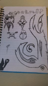 Scetchbook 8: Nice page. by Creator-Ponyus