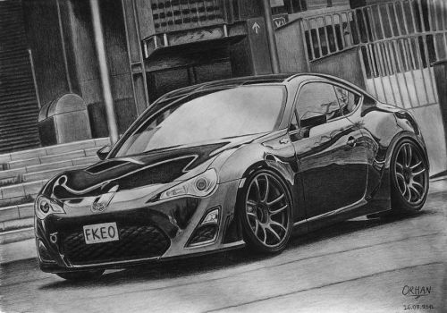 Toyota GT86 2011 by orhano