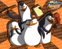 FANART: Penguins Of Madagascar by HNDRNT26