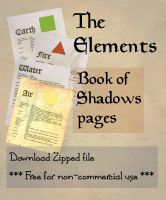 Book of Shadows 01 compendium by Sandgroan