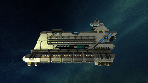 Empire Freighter finished exterior by Dimcreaper