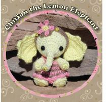 Lemon Elephant Crochet Pattern by peggytoes