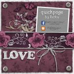 Digital Scrapbooking - Quickpage Vintage Romance 1 by Rickulein