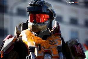 B-Geek 2012 | Halo Soldier by Vidigal