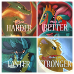 AG - Harder Better Faster Stronger by The-Chibster