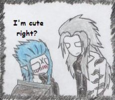Is Saix cute? by bloodyblackvalentine