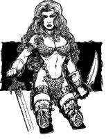 Red Sonja by Kapow2003