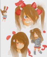 .:.Sora Doodles.:. by KawaiiHipster