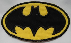 Batman Iron On Patch by quiltoni