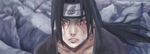 Exhausted Itachi by Sherlock2008
