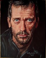 hugh laurie dr house by cliford417