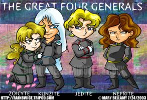 The Great Four Generals by MaryBellamy