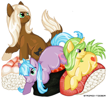 :PC: Sushi Ponies =3= by Striped-Tie