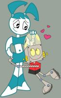 Robot Love by Juliefoo