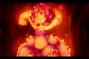 Flame Princess by Dakusuwan