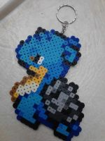 Pokemon: Perler Bead Lapras by heatbish