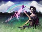 Dreaming in a Rainbow by Gypsy-Love