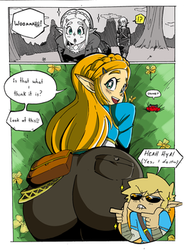 Zelda Booty Of The Wild by HaruEta