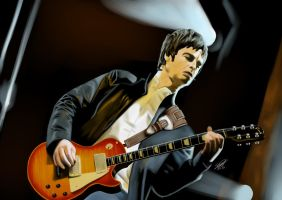 Noel Gallagher by Shyphex