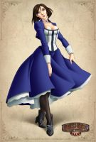 Elizabeth Bioshock Infinite by IDarkShadowI