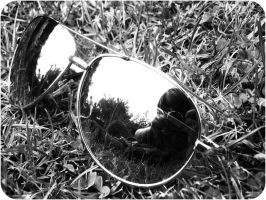 Through the looking glass by Mademoiselle-Lou