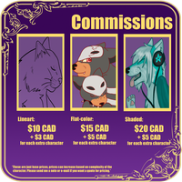 Commission Prices -OPEN- by D4RKT0RN4TH0R3