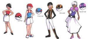Pokeball fashions by kangel