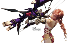 Serah FFXIII-2 Render.Png II by demeters