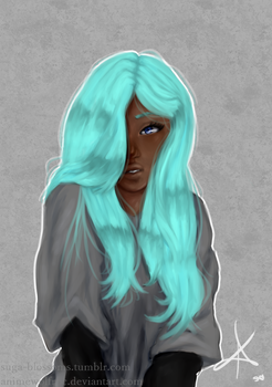 teal by AnimewolfRPC