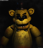 Golden Freddy - Poster by GamesProduction