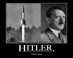 hitler demotivational by Weirddudeguy