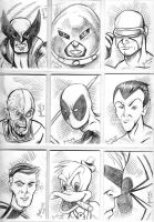 Sketchcard Dump 4 by NickMockoviak