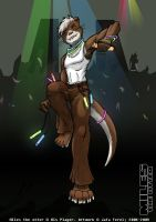 Miles the Otter -Fin- by JD-Ferel