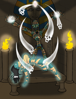 the Pharos curse by Lordstevie