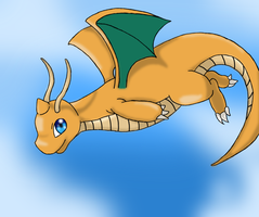 Dragonite by Mischief-Moose
