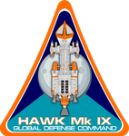 Space 1999 Hawk Mk IX Flight Insignia by viperaviator