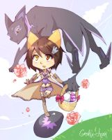 Easter 2010 Teny by Goku-chan