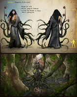 Akka: Empress of the roots by Toffotin