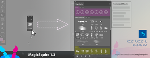 MagicSquire 1.3 replaces Photoshop's right-click by Anastasiy