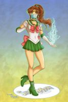 Sailor Jupiter by Daekazu by Juliefan21