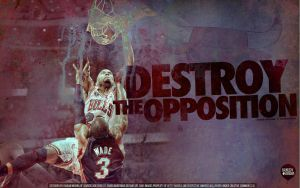 Taj Gibson Dunk Wallpaper by IshaanMishra