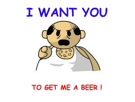 I Want You To Get Me A Beer by pooka2hot4u