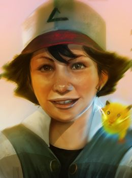 Ash Ketchum by kainthebest