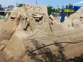 Sand Sculpture from River Days in Detroit by mr-grump
