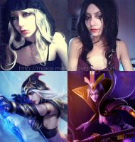 League of Legends make up 2 by meke-meke