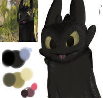 .:WIP:. Fail toothless by Freeze-pop88