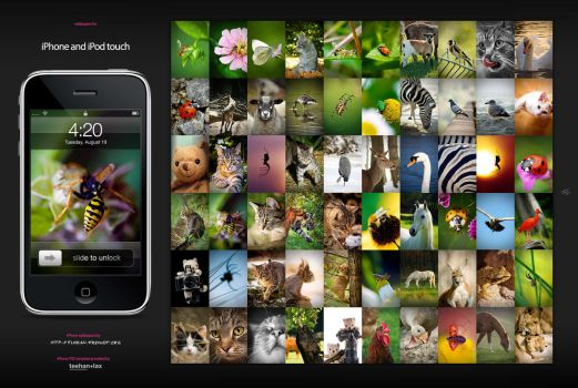 60 iPhone wallpapers edition 1 by hermik
