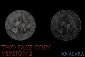 Two Face Coin - Version 2 by Postmortacum
