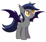 Echo the Bat Pony by Zee66